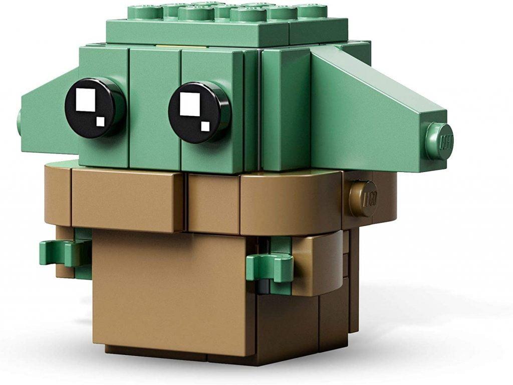 Baby Yoda LEGO BrickHeadz El Mandaloriano y el Niño 75317