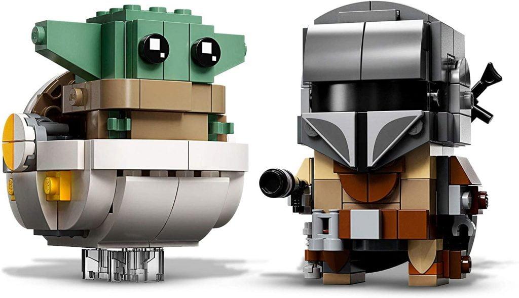 Baby Yoda y El Mandaloriano LEGO BrickHeadz El Mandaloriano y el Niño 75317