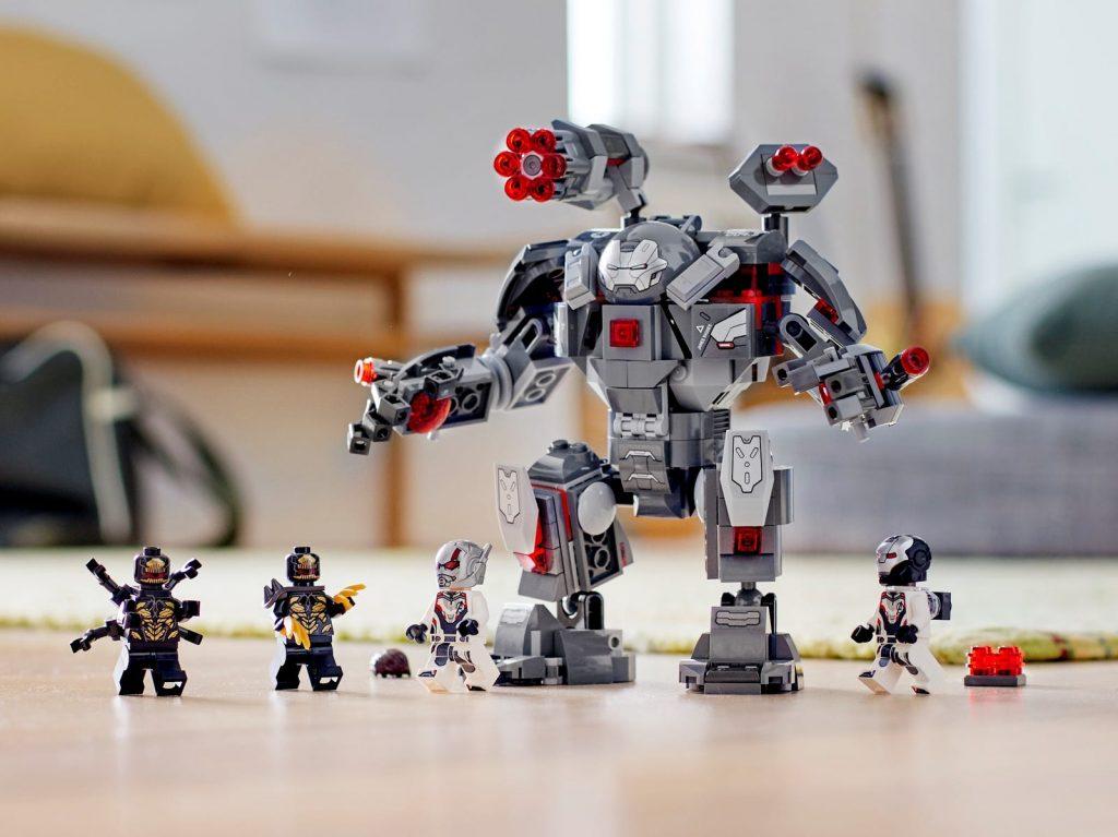 Imagen a escala real del Depredador de Maquina de Guerra LEGO (76124)