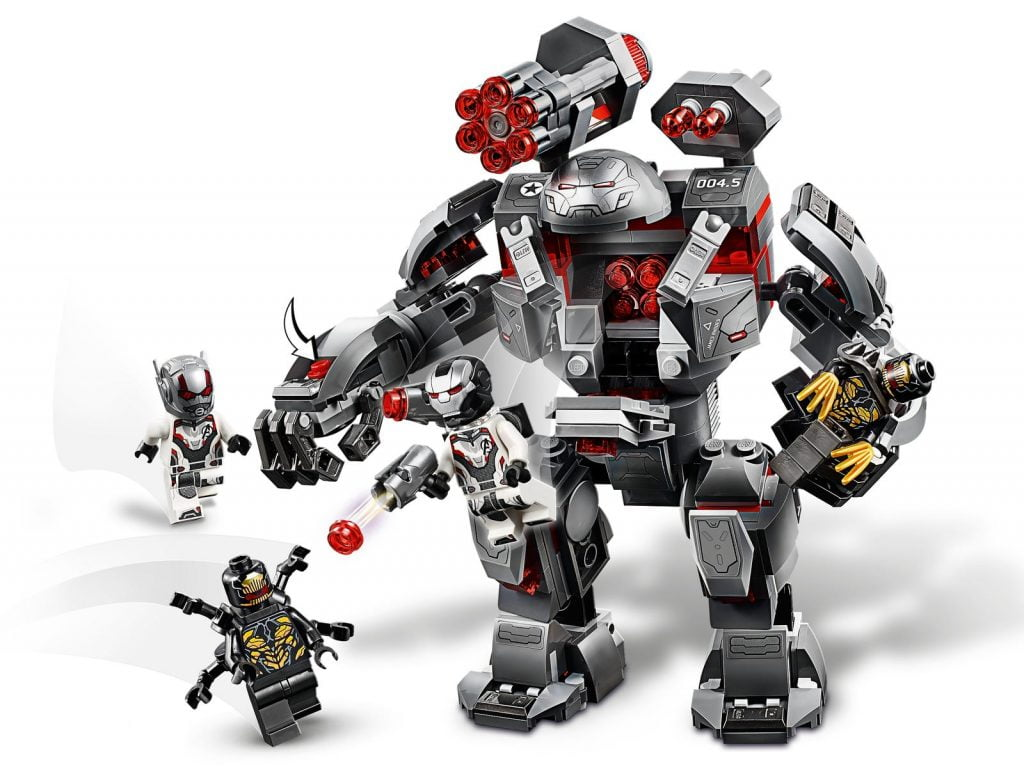 Imagen con zoom del Depredador de Maquina de Guerra LEGO (76124)