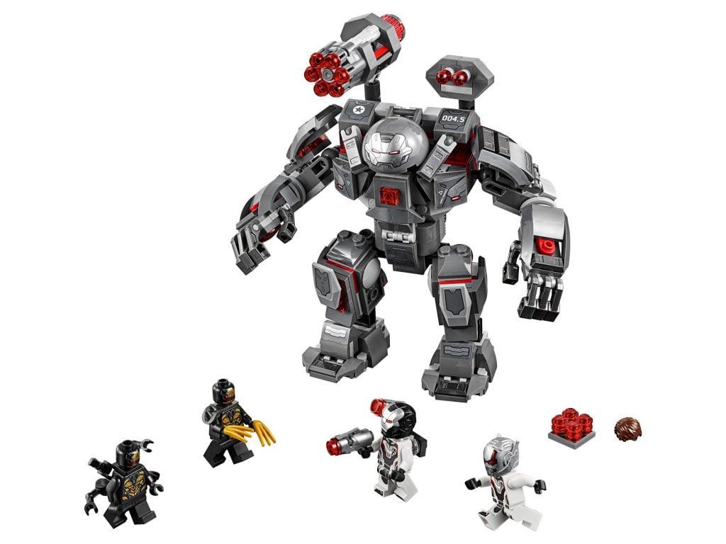Set completo del Imagen con zoom del Depredador de Maquina de Guerra LEGO