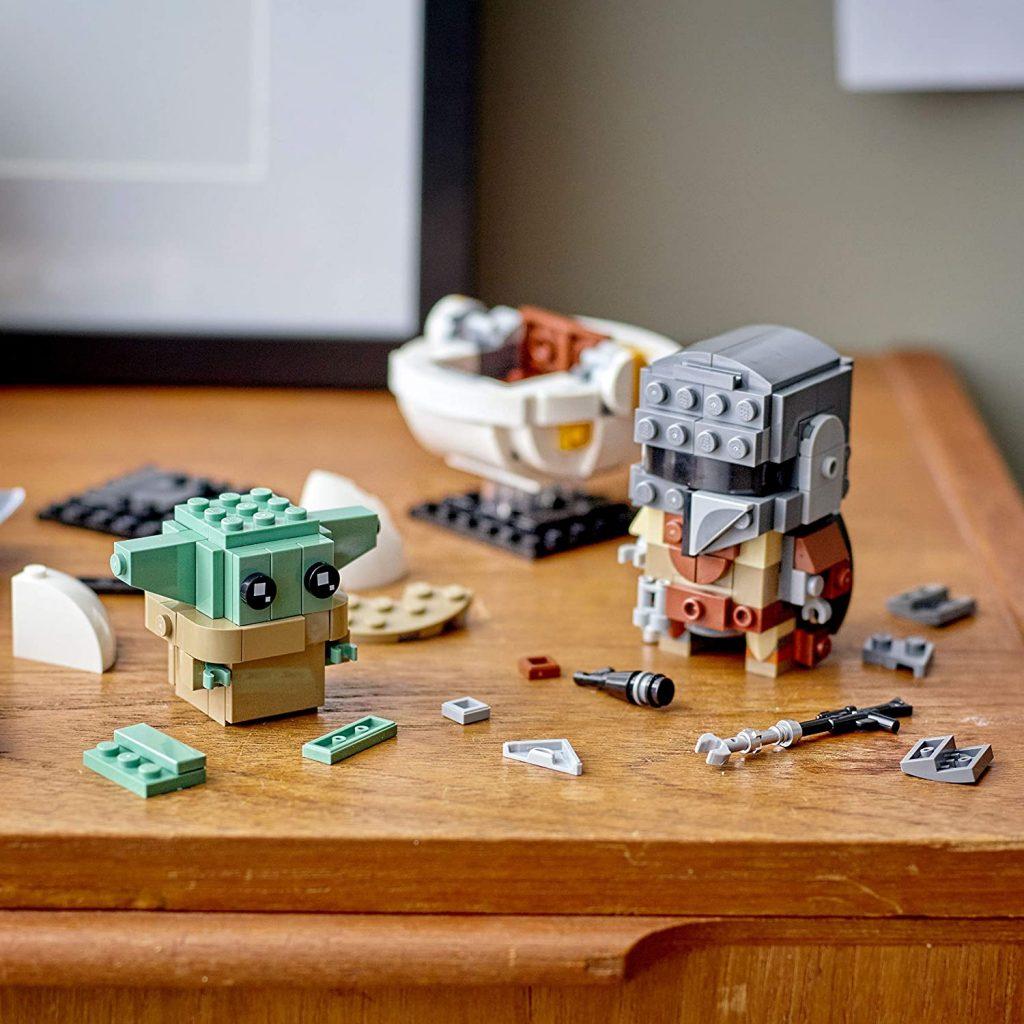 El Mandaloriano Montaje LEGO BrickHeadz 75317