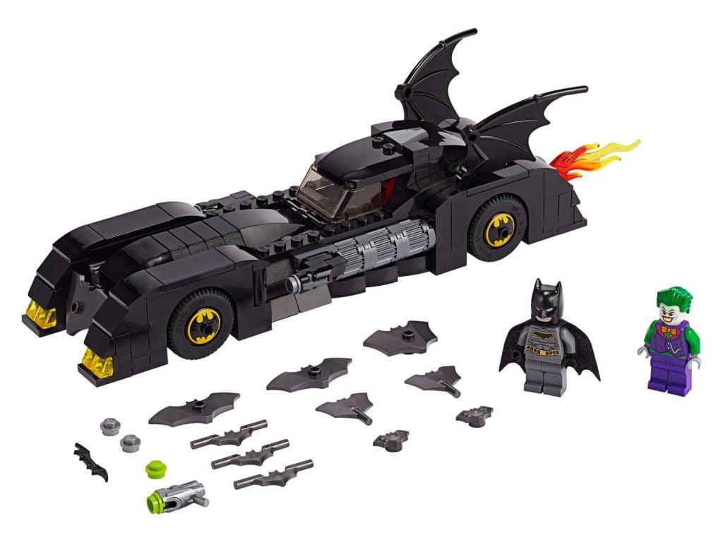 Componente del  del LEGO DC Batmobile: La Persecución del Joker (76119)