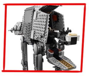 Imagen de la Moto-Speed del LEGO Caminante AT-AT (75288)