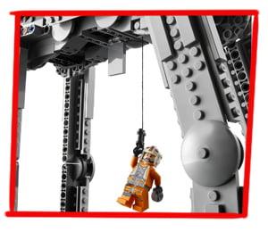 Imagen del cabestrante del LEGO Caminante AT-AT (75288)