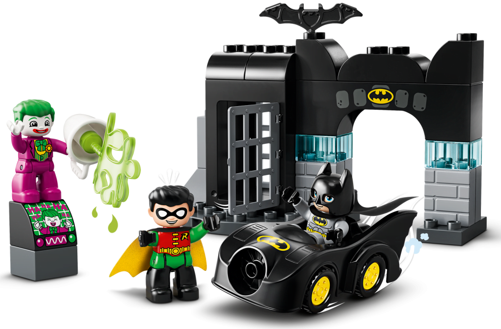 Joker, Robin y Batman en LEGO DUPLO