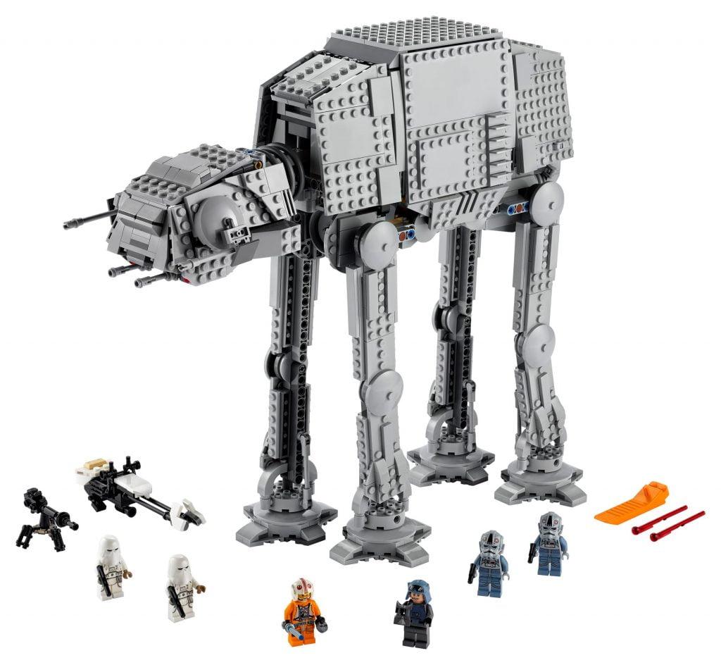 Imagen del set completo de LEGO Star Wars Caminante AT-AT (75288)