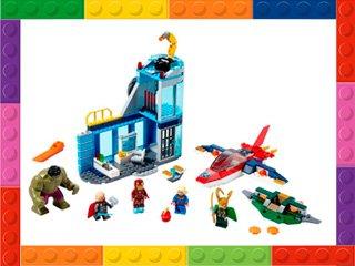 Imagen representativa de sets de LEGO superhéroes