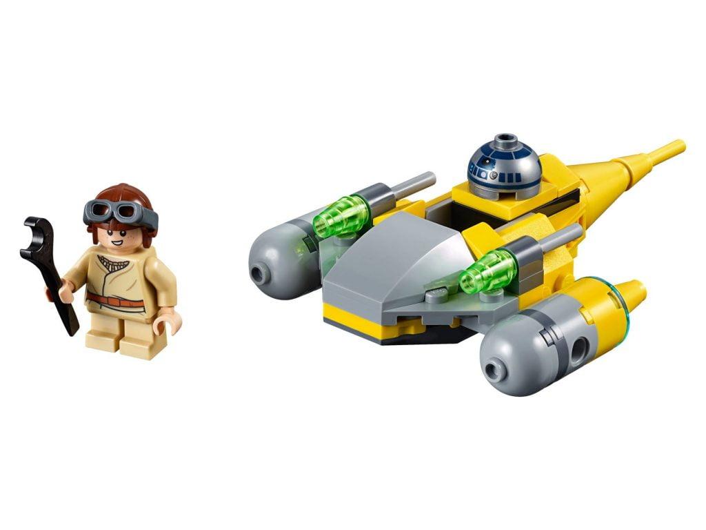 Imagen del LEGO Microfighter: Caza Estelar de Naboo (75223)