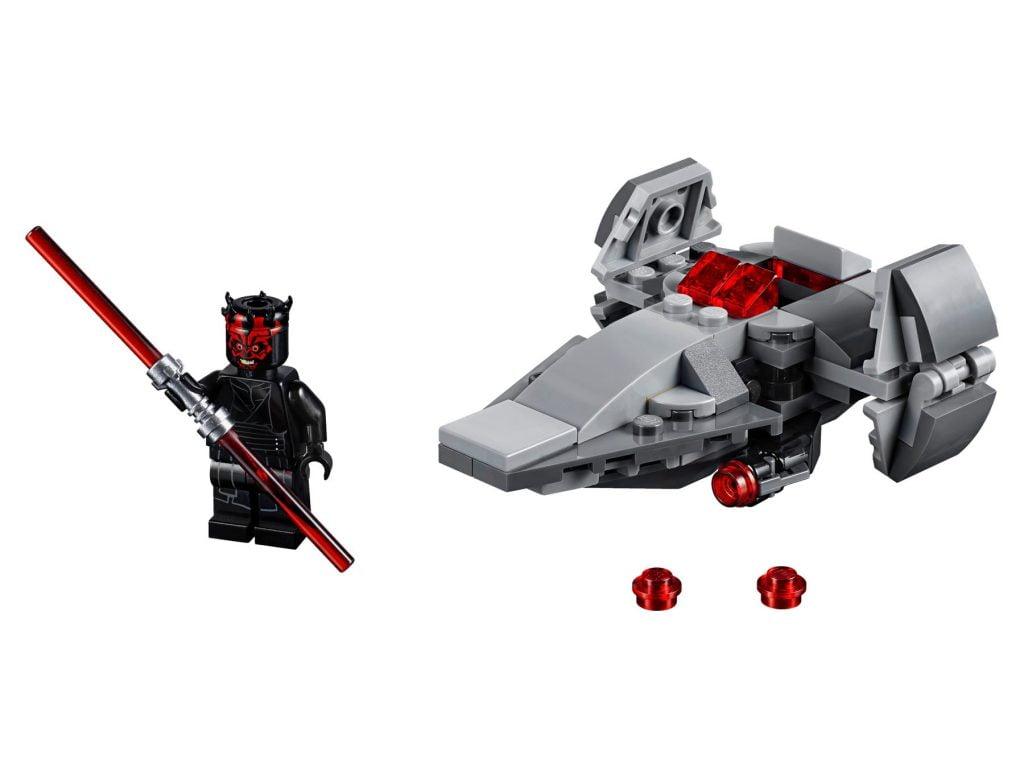 Imagen del LEGO Microfighter: Infiltrador Sith - Darth Maul (75224)