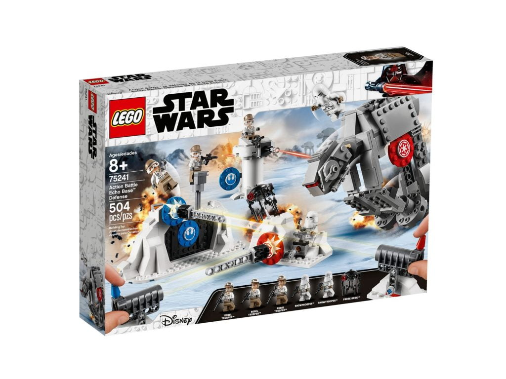 Caja del LEGO Action Battle: Defensa de la Base Eco (75241)