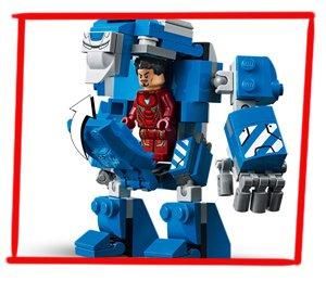 Armadura IGOR para Tony Stark en formato LEGO