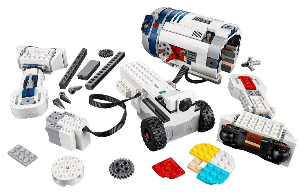 Imagen del LEGO R2-D2 Star Wars Boots: Comandante Droide (75253) por piezas