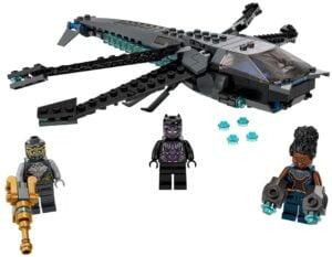 Imagen del LEGO 76186 Black Panther Dragon Flyer