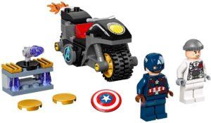 Imagen del LEGO 76189 Captain America and Hydra Face-Off