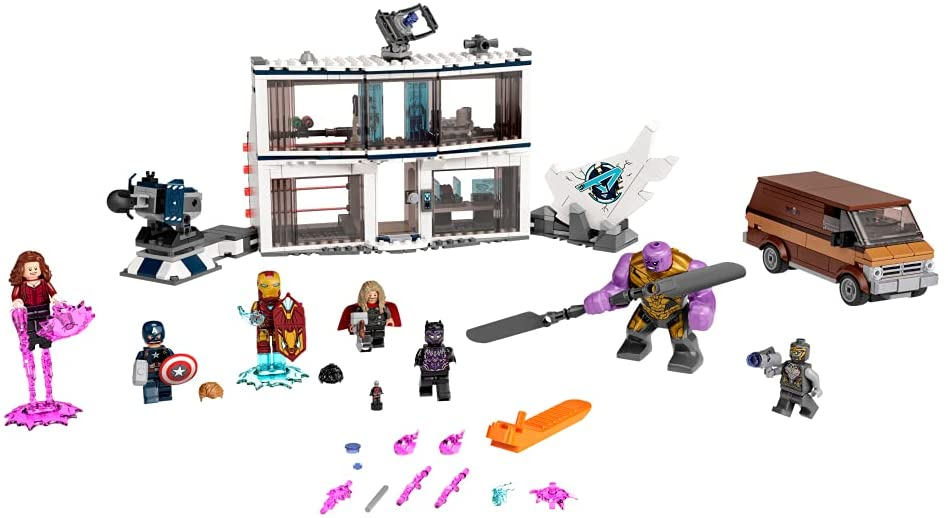 Imagen del LEGO 76192 Vengadores: Endgame Batalla final