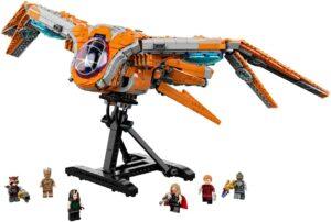 Imagen del LEGO 76193 The Guardians' Ship (Nave Guardianes de la Galaxia)