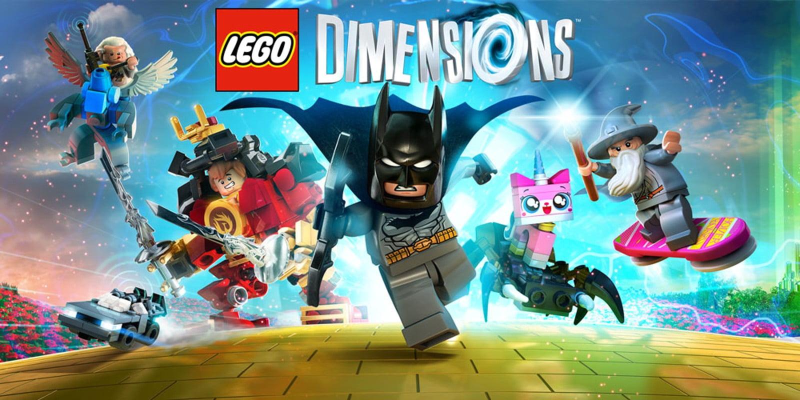 Imagen promocional del juego LEGO Dimensions