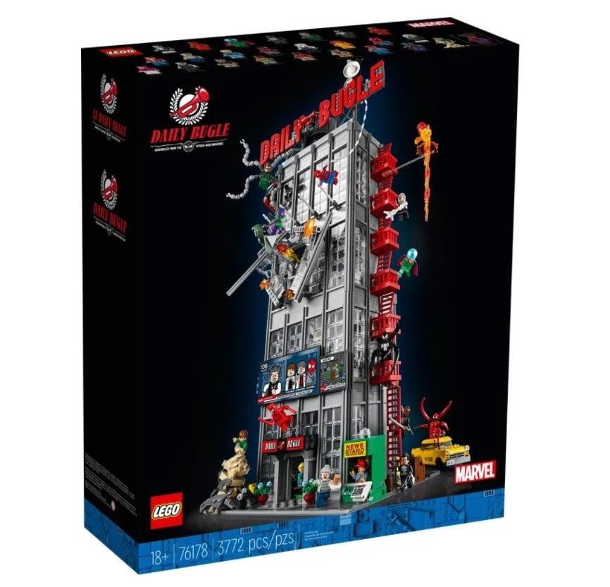 Imagen del LEGO 76178 Spider-Man Daily Bugle