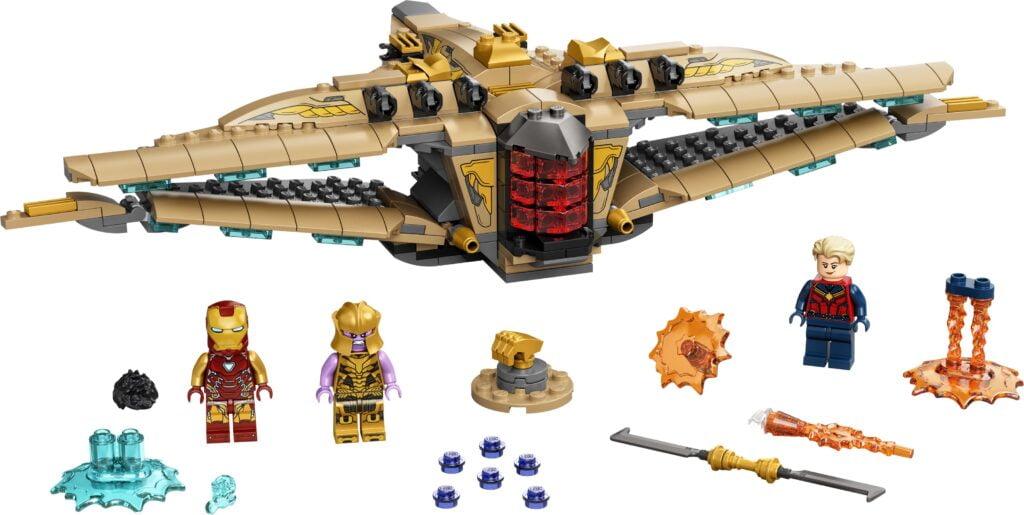 Batalla de Endgame con Sanctuary II (LEGO 76237)