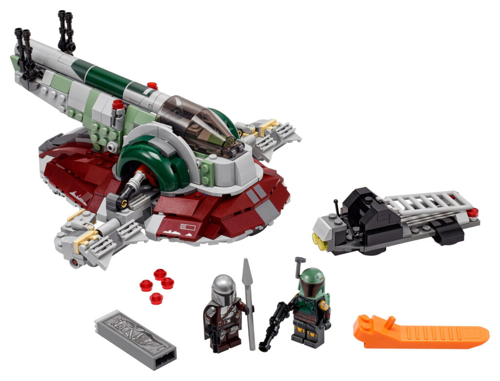 LEGO Star Wars 75312 La nave estelar de Boba Fett