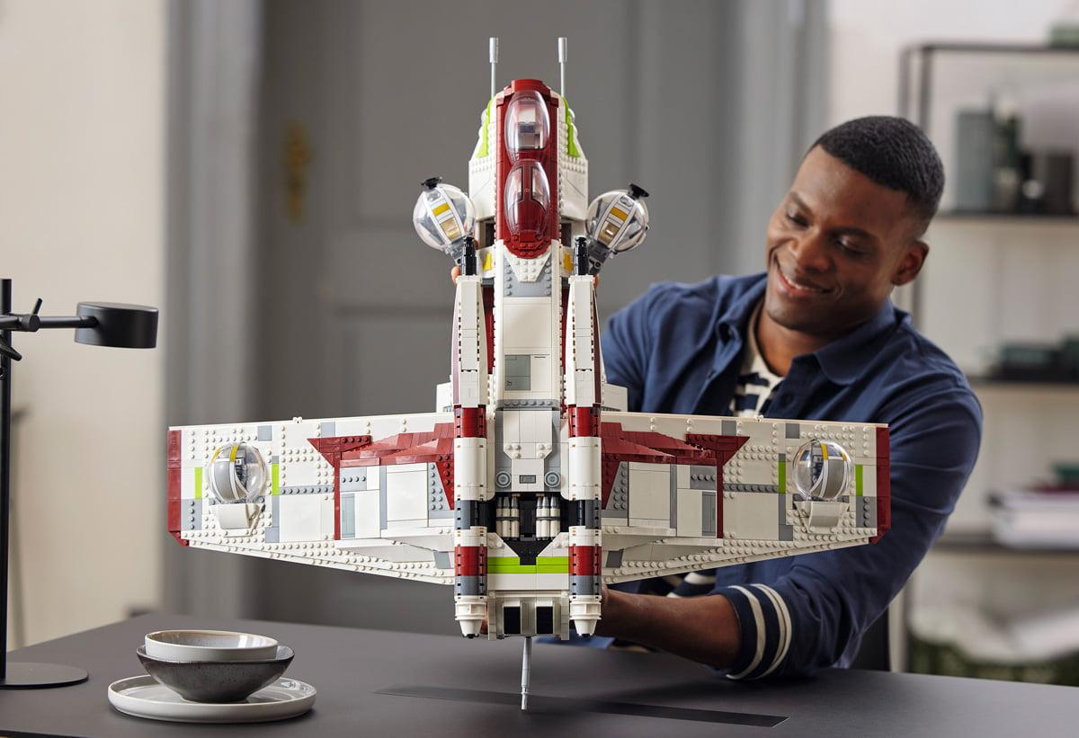 (75309) Vista LEGO Star Wars Republic