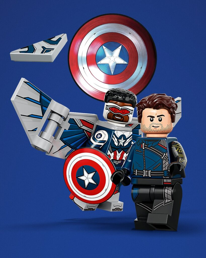 LEGO Minifigures Marvel Studios (71031) de Falcon y el Soldado de Invierno
