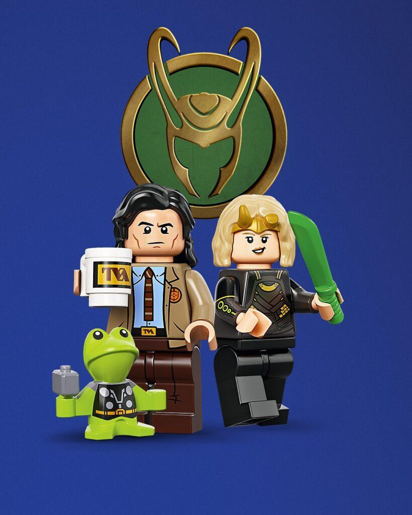 LEGO Minifigures Marvel Studios (71031) de Loki